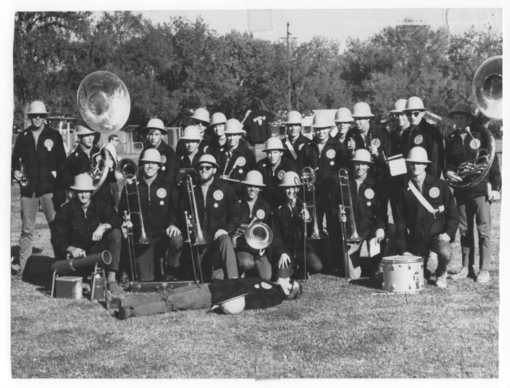 The Marching Lumberjacks circa 1968