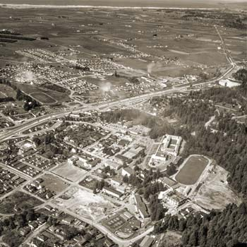 Arial View of Arcata