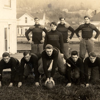 First Football Team 1920