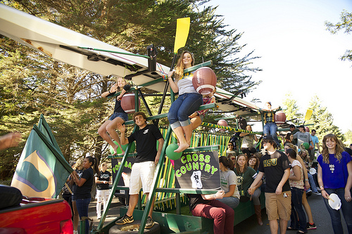 athletics float