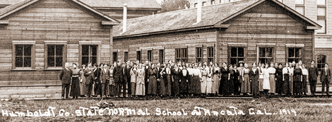 Humboldt Normal School cerca 1914