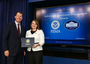 Jenny Novak: Zombie Disaster Prep Earns White House Recognition