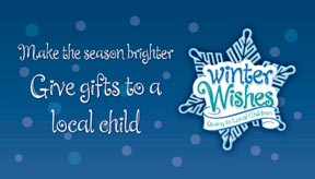 Winter wishes graphic