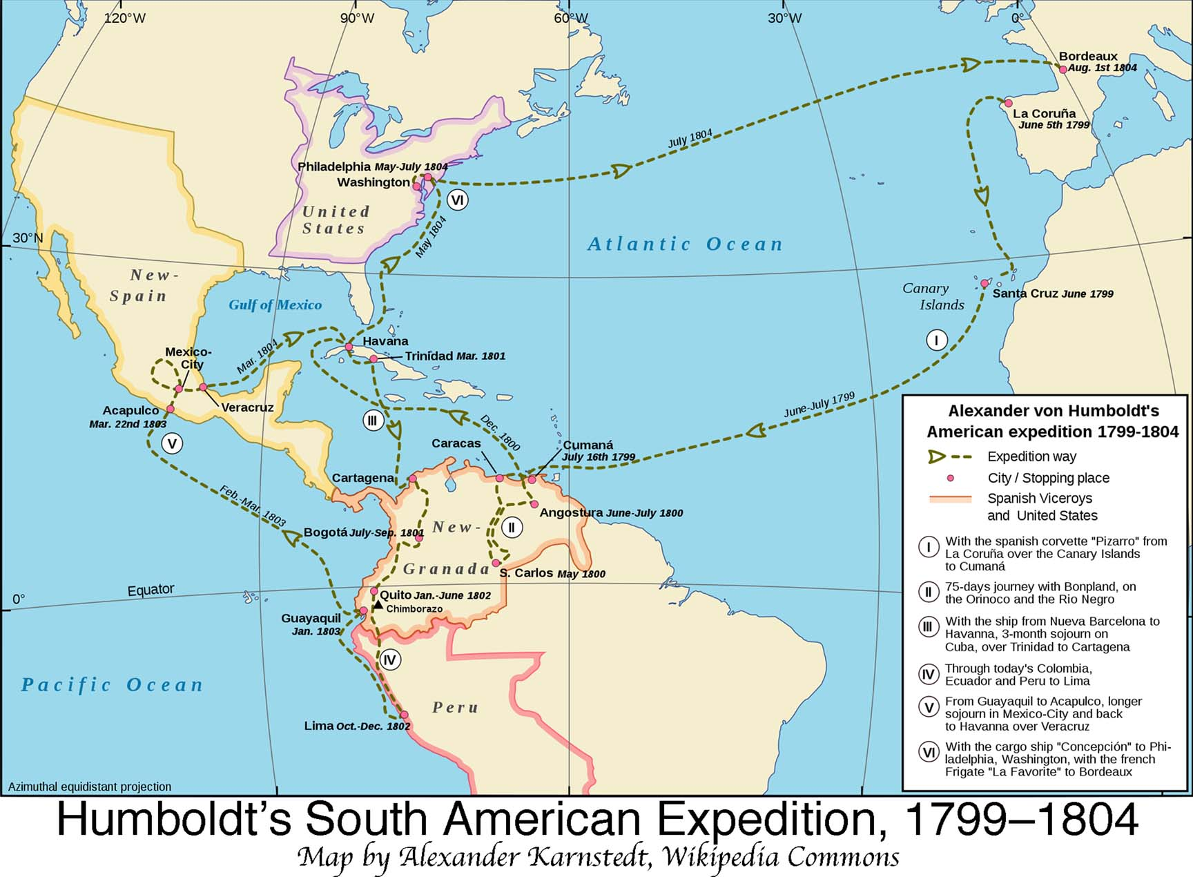 humboldt s latin american expedition